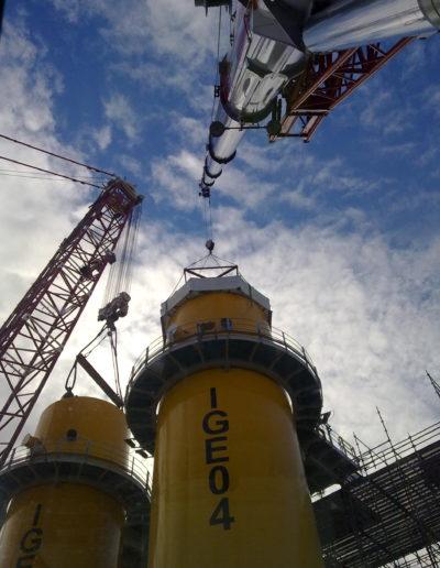 vlissingen oost windmolen constructie