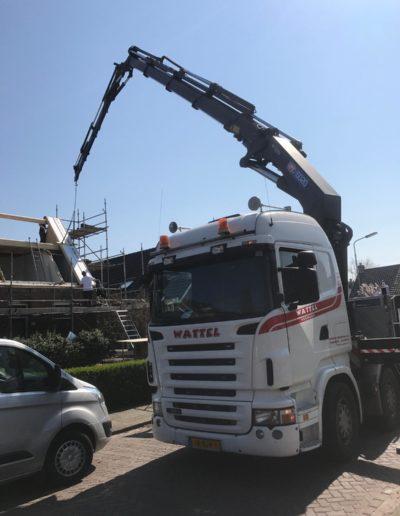 autolaadkraan bouw