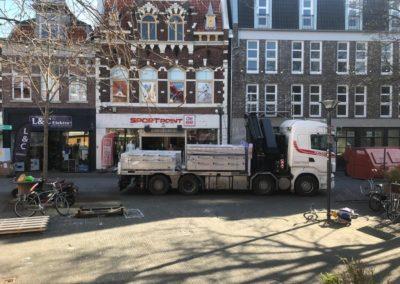 Autolaadkraan in voor Vlissingen voor Sportpoint