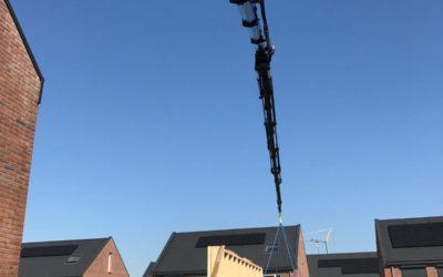 Prefab dakplaten leggen in Goes